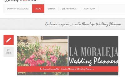 «En buena compañía… con La Moraleja Wedding Planners» en Dorothy´s red shoes