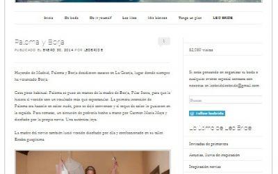 La Boda de Paloma y Borja en el Blog de Leo Bride