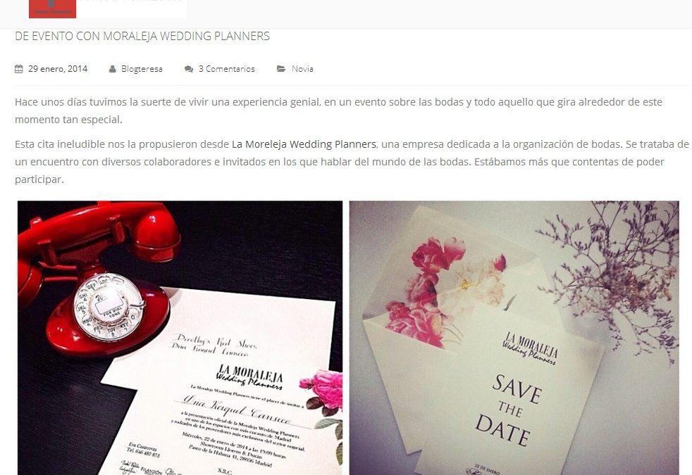 """De evento con La Moraleja Wedding Planners"" por Teresa Palazuelo"