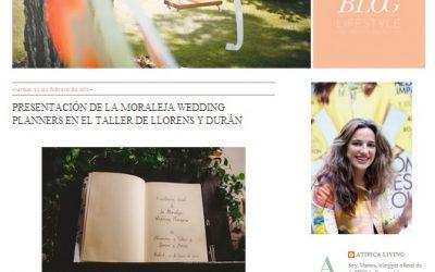 ¡Sorpresón! Nuestras colegas de Atípica hablan de La Moraleja Wedding Planners