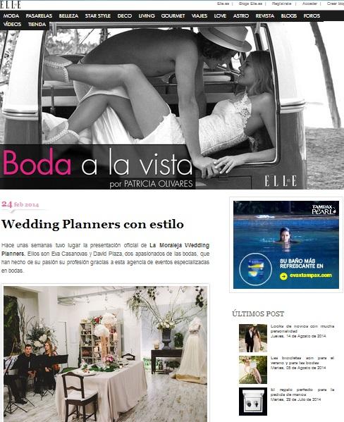 Así nos ve Patricia Olivares de «Boda a la Vista» de la revista Elle